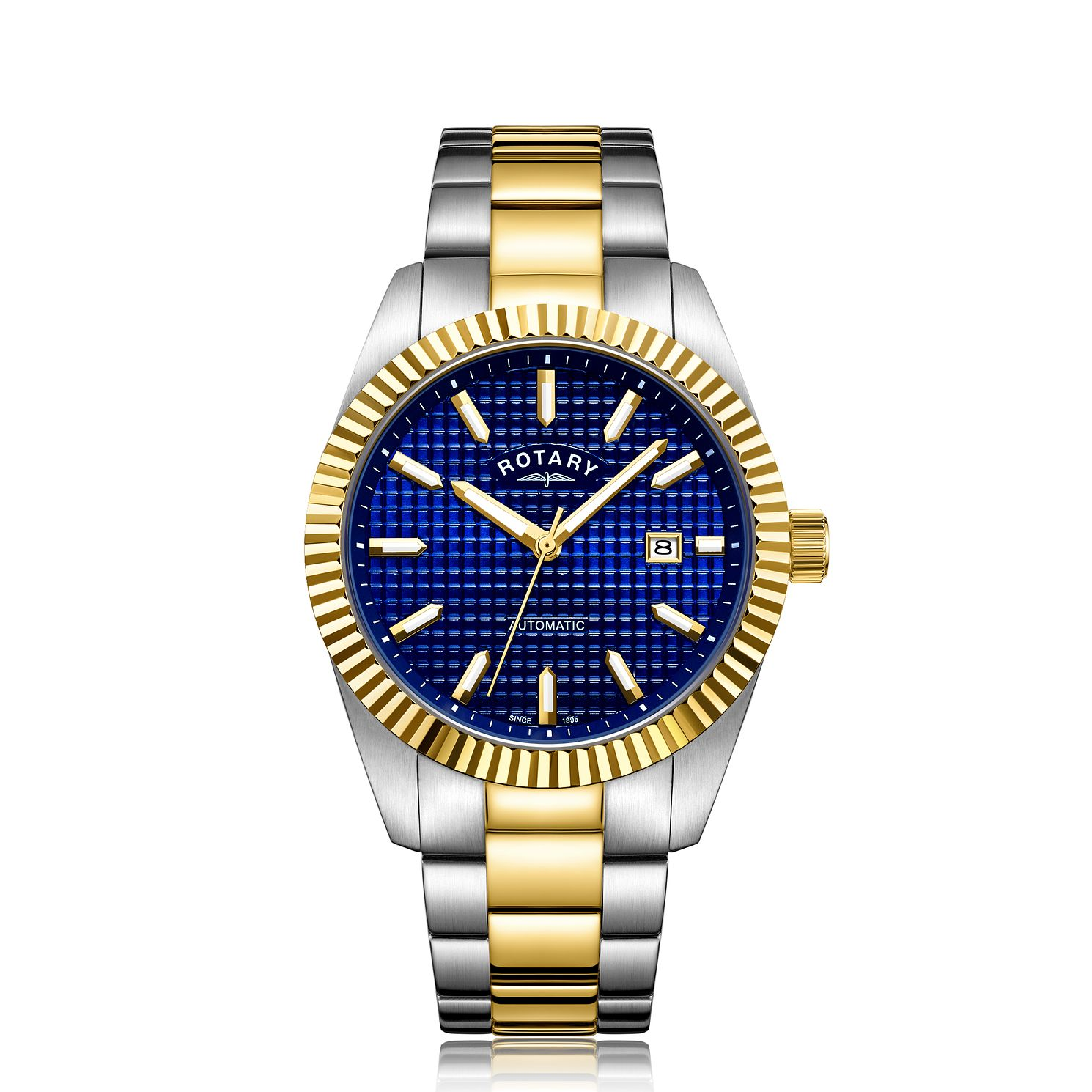 Rotary Men's Two-Tone Stainless Steel Bracelet Watch - Product number 9794123
