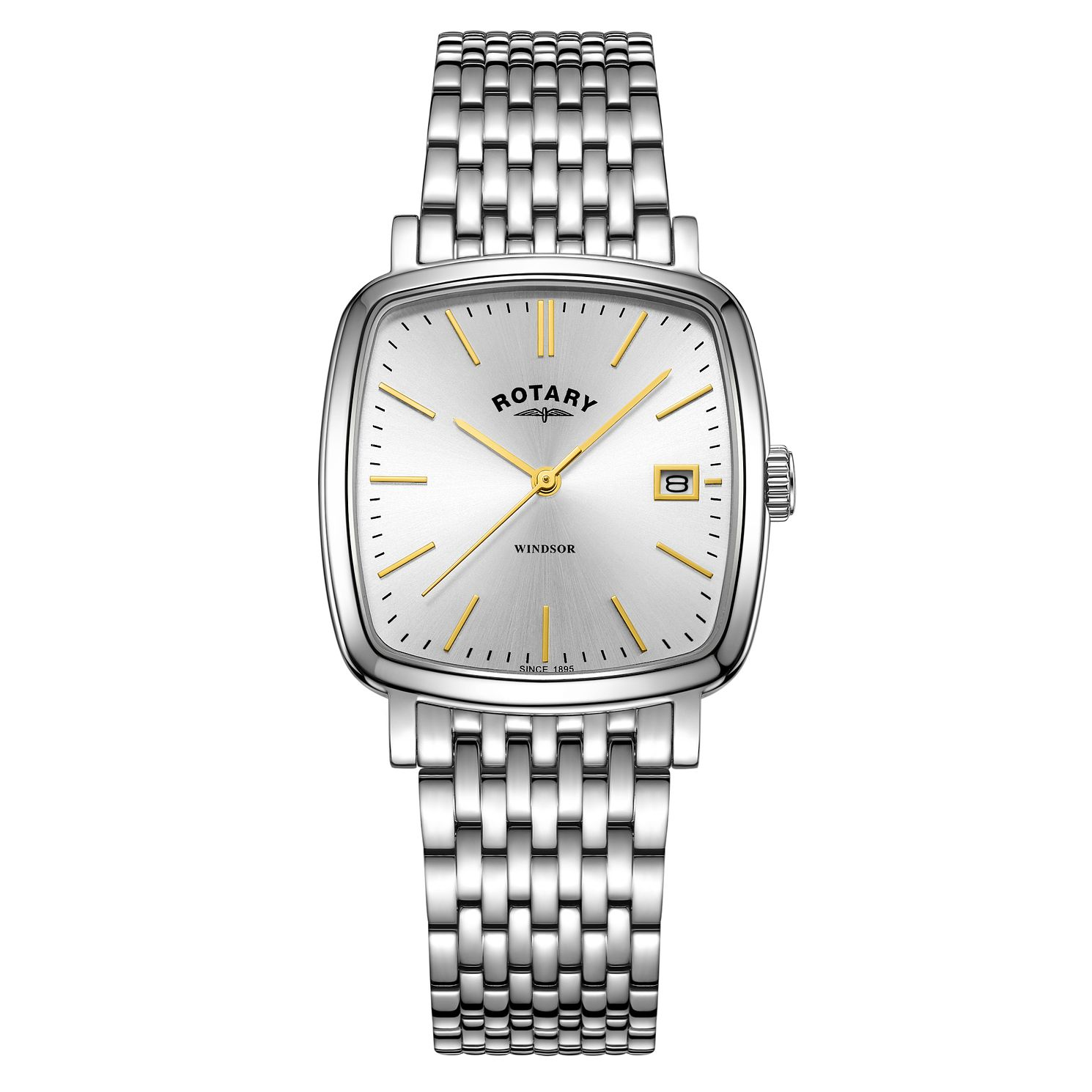 Rotary Men's Windsor Stainless Steel Bracelet Watch - Product number 9794174