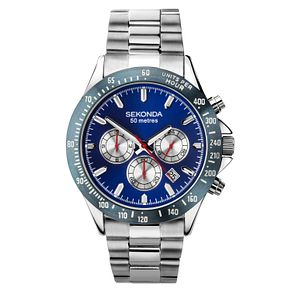 Sekonda Men's Chronograph Stainless Steel Bracelet Watch - Product number 9795073