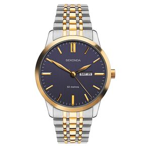 Sekonda Men's Two-Tone Stainless Steel Bracelet Watch - Product number 9795200