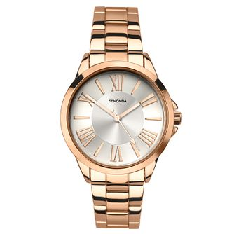 Sekonda Editions Ladies' Rose Stainless Steel Bracelet Watch - Product number 9795278