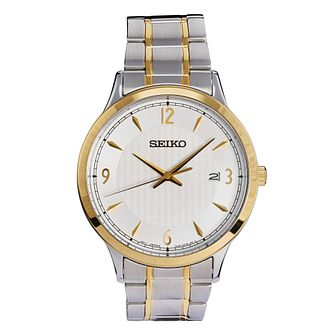 Seiko Men's Two-Tone Stainless Steel Bracelet Watch - Product number 9795332
