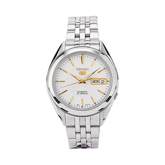 Seiko Sports 5 Men's Stainless Steel Bracelet Watch - Product number 9795405