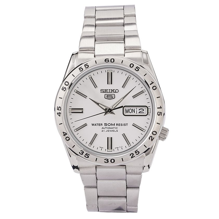 Seiko Sports 5 Men's Stainless Steel Bracelet Watch - Product number 9795448