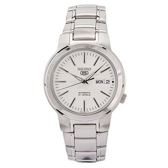f62fedfc1 Seiko Sports 5 Men's Stainless Steel Bracelet Watch - Product number 9795472