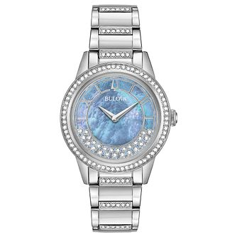 Bulova Ladies' Crystal TurnStyle Bracelet Watch - Product number 9795634
