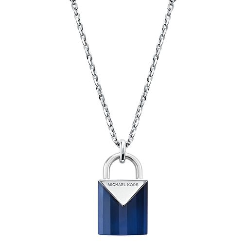 Michael Kors Sterling Silver Kors Colour Quartz Pendant - Product number 9800727