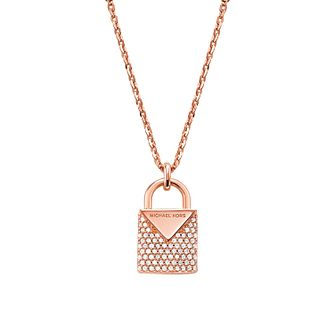 Michael Kors 14ct Rose Gold Locket Pendant - Product number 9800824