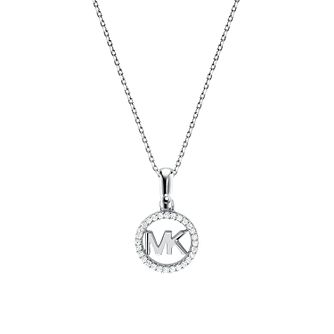 Michael Kors Sterling Silver Custom Kors Logo Pendant - Product number 9800832