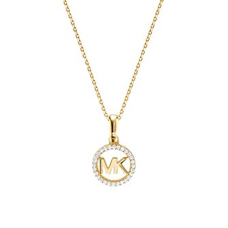 3187034acc00 Michael Kors 14ct Gold Plated Silver Custom Kors Pendant - Product number  9800840