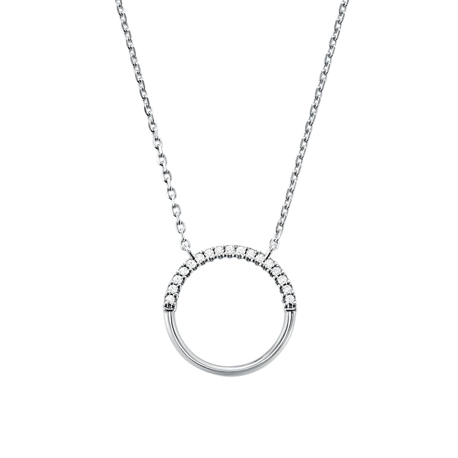 Michael Kors Sterling Silver Custom Kors Circle Pendant - Product number 9800891