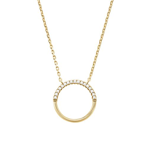 Michael Kors 14ct Gold Plated Silver Custom Kors Pendant - Product number 9800921