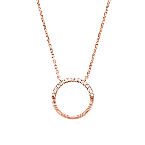 Michael Kors 14ct Rose Gold Plated Custom Kors Pendant - Product number 9800948
