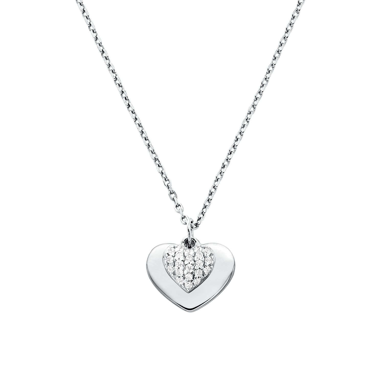 Michael Kors Sterling Silver Kors Love Heart Pendant - Product number 9800956