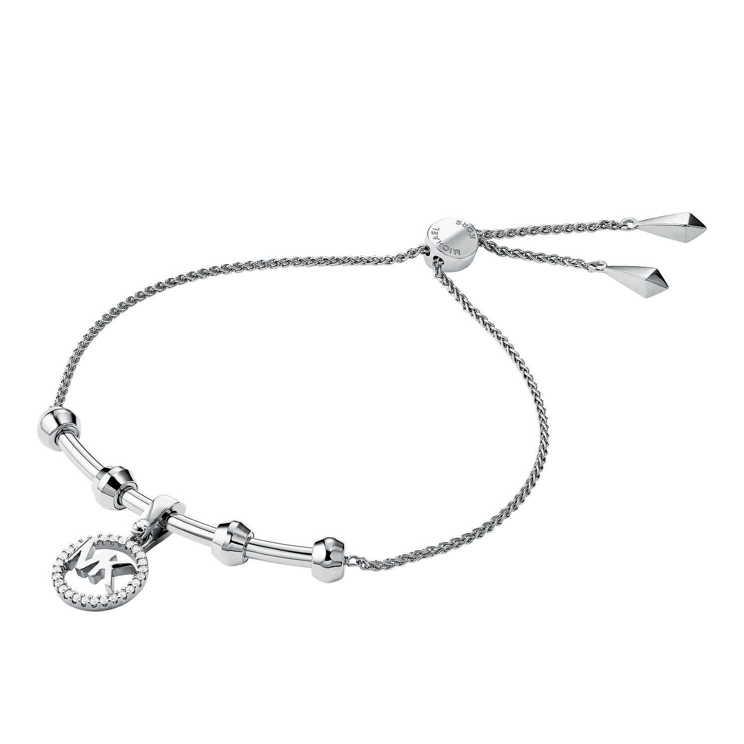 Michael Kors Sterling Silver Custom Kors Logo Bracelet - Product number 9801200