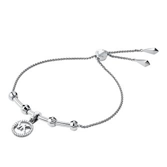 df1a40e223e7c Michael Kors Sterling Silver Custom Kors Logo Bracelet - Product number  9801200