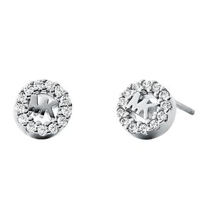 Michael Kors Sterling Silver Logo Stud Earrings - Product number 9801510