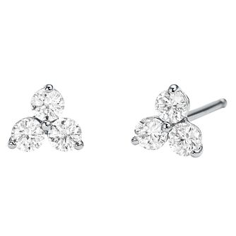 2f5b22a35aecd7 Michael Kors Sterling Silver Cubic Zirconia Stud Earrings - Product number  9801669
