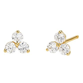 Michael Kors 14ct Yellow Gold Plated Silver Stud Earrings - Product number 9801693