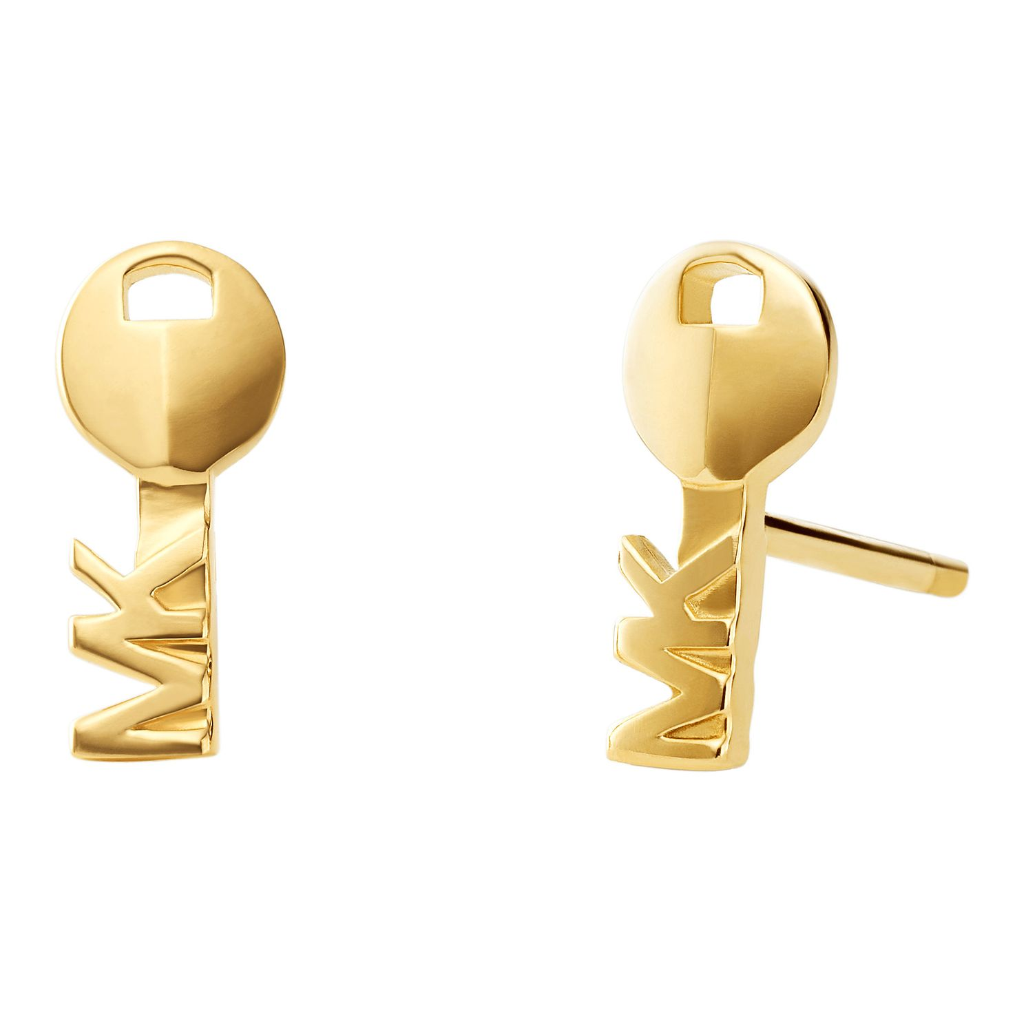 Michael Kors 14ct Yellow Gold Plated Silver Stud Earrings - Product number 9801723