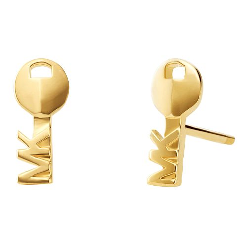 0aa6afb950b1 Michael Kors 14ct Yellow Gold Plated Silver Stud Earrings - Product number  9801723