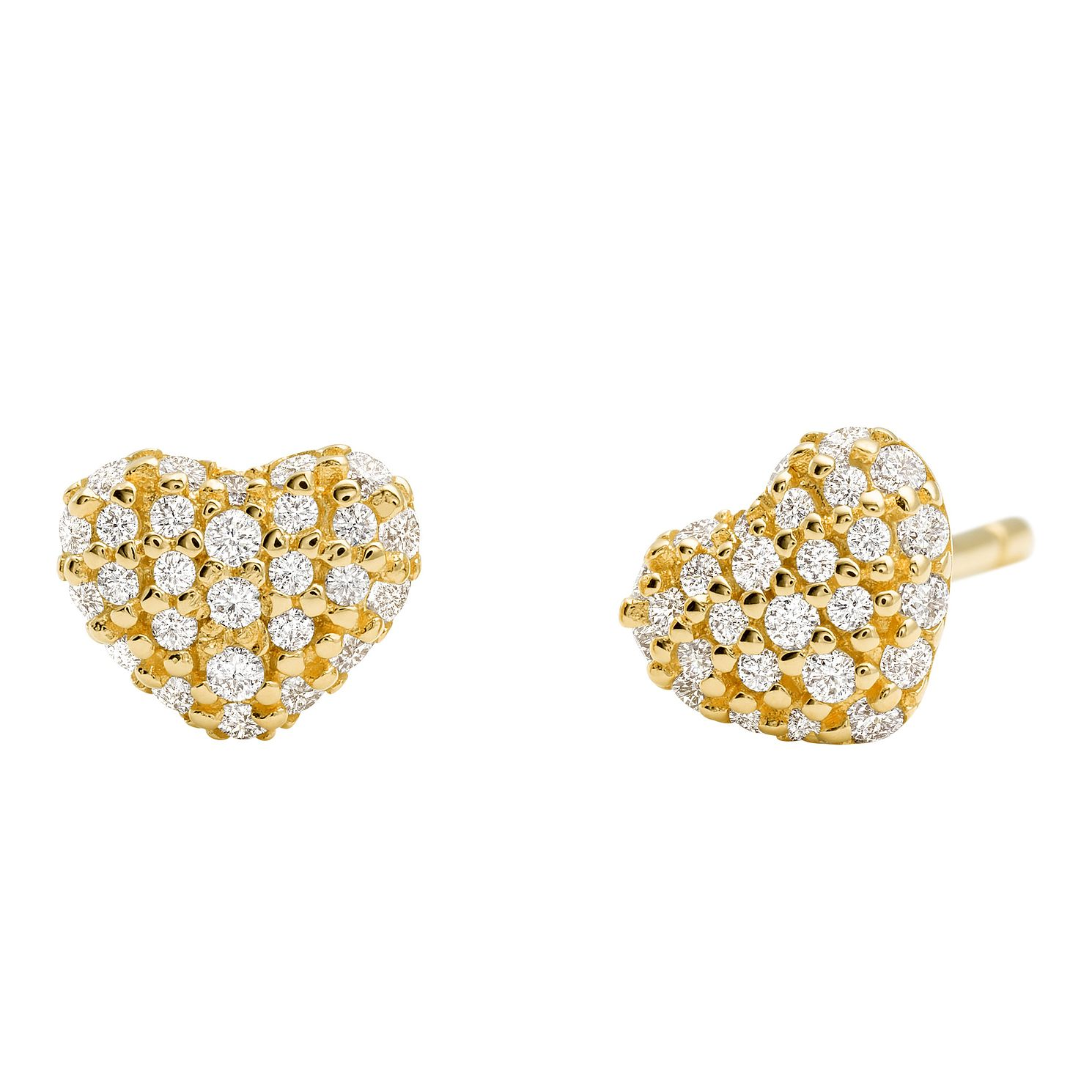 Michael Kors 14ct Yellow Gold Plated Silver Stud Earrings - Product number 9801766