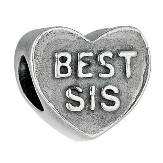 Charmed Memories Sterling Silver Best Sis Bead - Product number 9802312