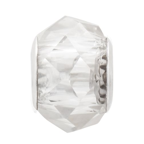 Charmed Memories Sterling Silver Faceted Crystal Bead - Product number 9802592