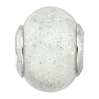 Charmed Memories Sterling Silver Sprinkle Murano Glass Bead - Product number 9802622