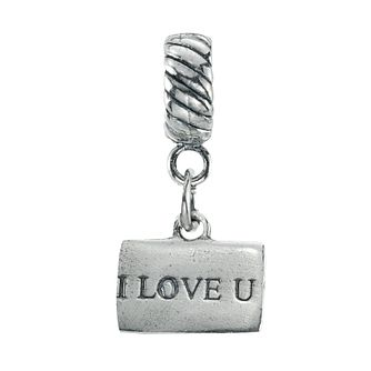 Charmed Memories I Love U Envelope Bead - Product number 9802843