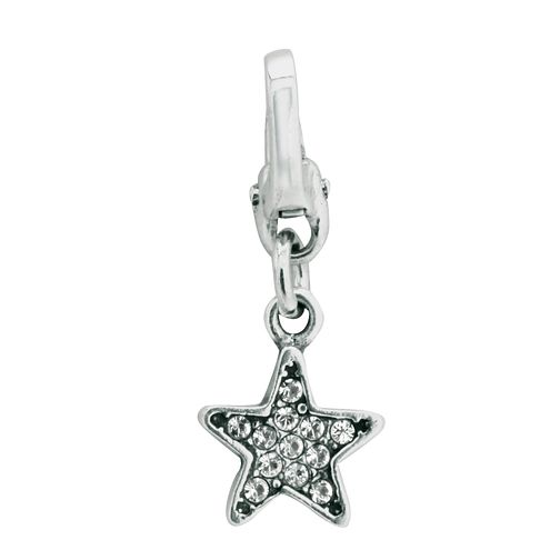 Charmed Memories Sterling Silver Crystal Star Bead - Product number 9802886