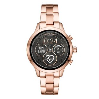 Michael Kors Access Runway Gen 4 Rose Gold Tone Watch - Product number 9804692