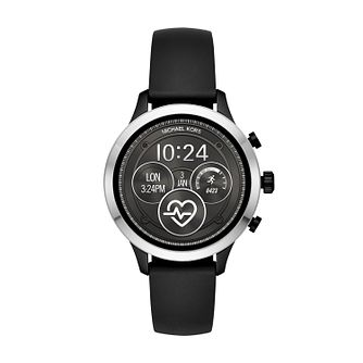 Michael Kors Runway Gen 4 IP Black Strap Smartwatch - Product number 9804714