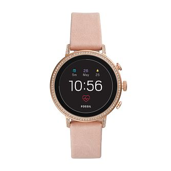 Fossil Venture Gen 4 Smartwatch Smoke Pastel Pink - Product number 9805737