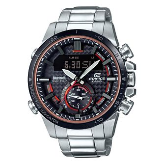 Casio Edifice Men's Bluetooth Solar Powered Bracelet Watch - Product number 9806059