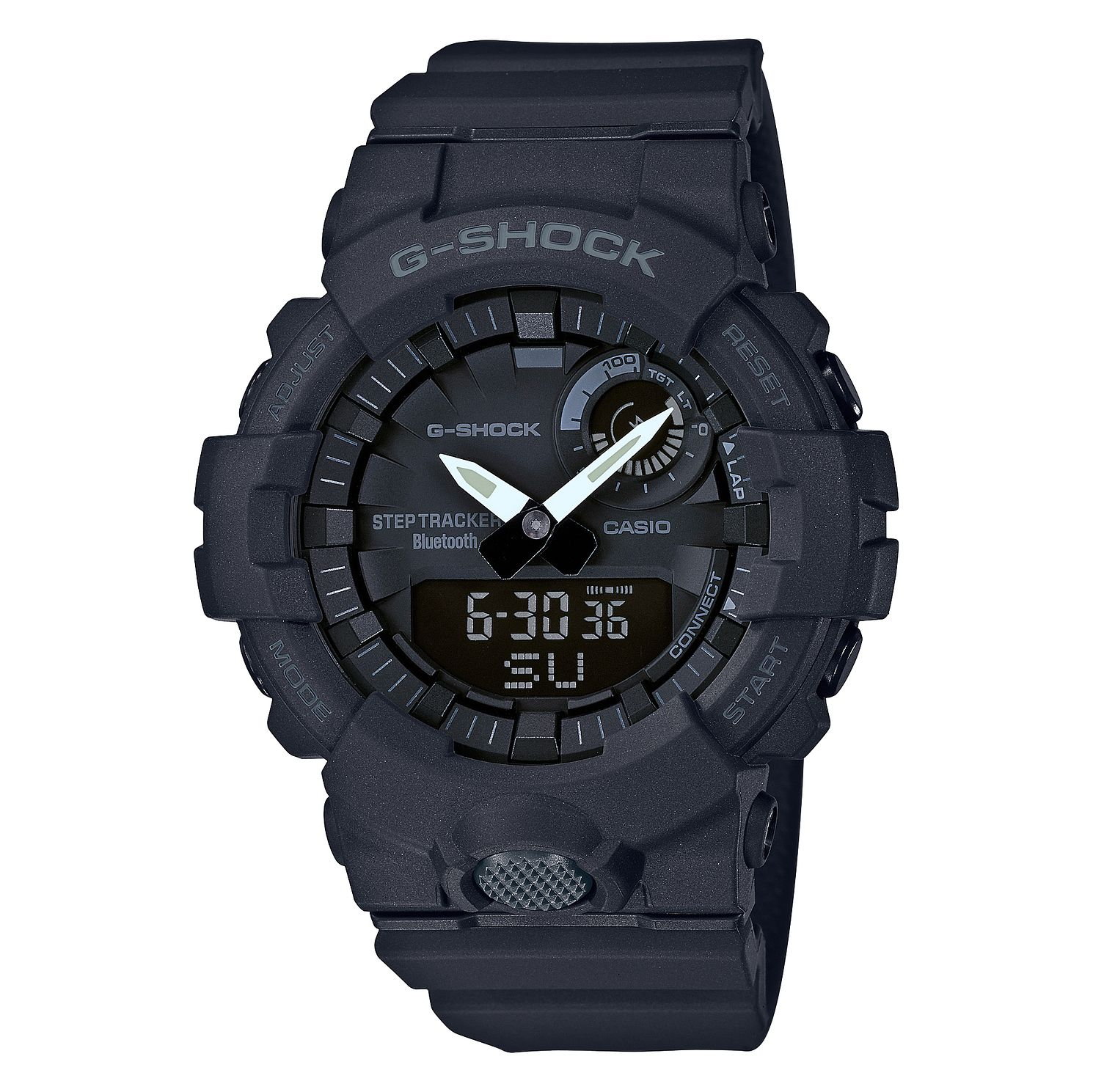 Casio G-Shock Men's Step Tracker Resin Black Strap Watch - Product number 9806091
