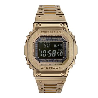 Casio G-Shock Full Metal Men's Gold Plated Bracelet Watch - Product number 9806148