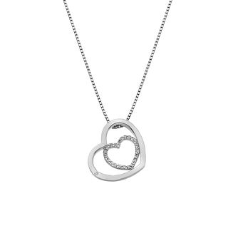 Hot Diamonds Silver Topaz Adorable Heart Pendant - Product number 9806458