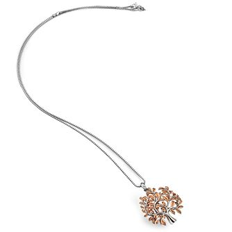 Hot Diamonds Rose Gold Plated Passionate Tree Pendant - Product number 9807438