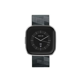Fitbit Versa 2 Special Edition Smoke Grey Strap Smart Watch - Product number 9808000