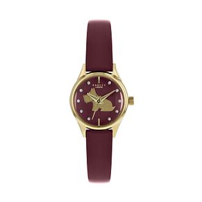 Radley London Ladies' Red Leather Dog Watch - Product number 9808841