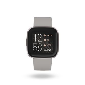 Fitbit Versa 2 Grey Silicone Strap Smart Watch - Product number 9808922