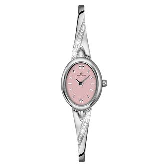 Accurist Ladies' Stone Set Bangle Watch - Product number 9907459