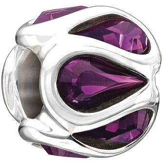 Chamilia Embrace Purple Swarovski Crystal Charm - Product number 9909443