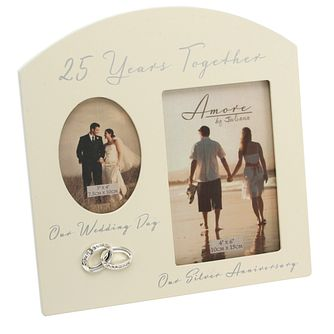 Special Memories 25th Anniversary Double Photo Frame - Product number 9937765