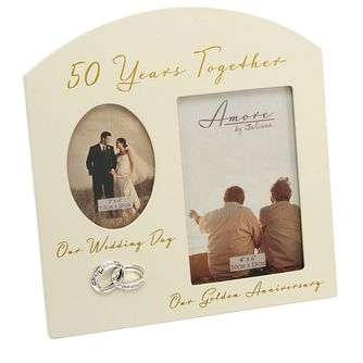Special Memories 50th Anniversary Double Photo Frame - Product number 9937781