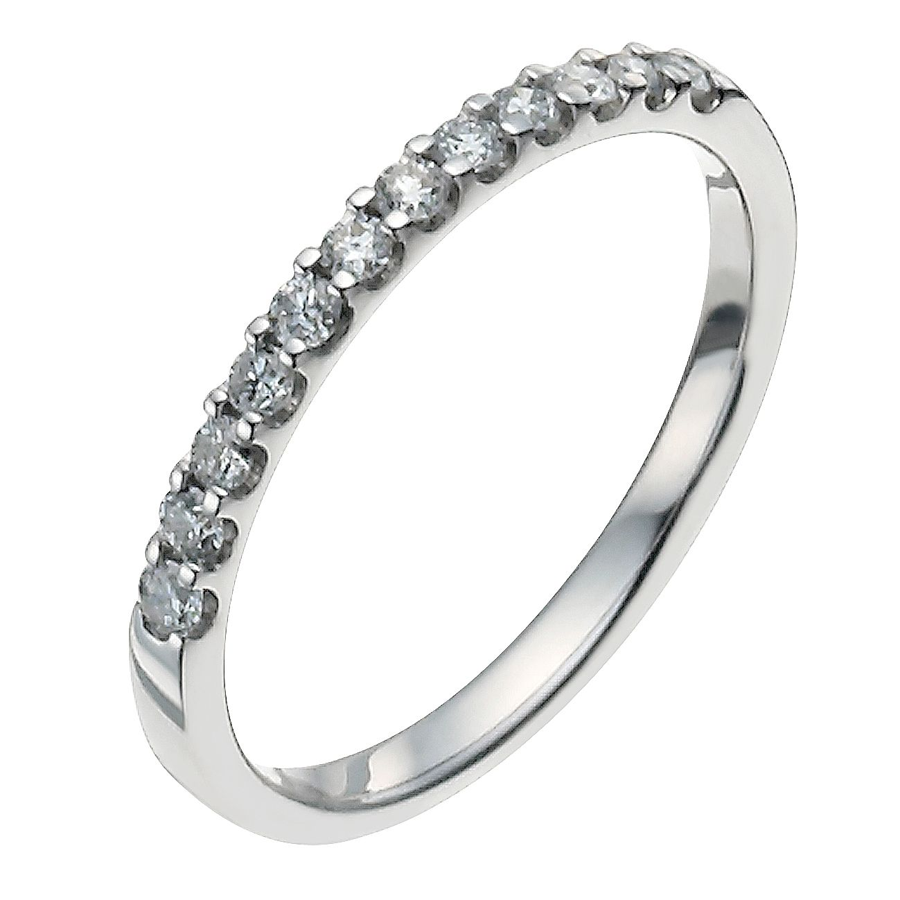 Platinum 0.25ct Diamond Ring - Product number 9949240