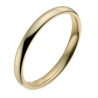 18ct Yellow Gold 2mm Super Heavy Court Ring - Product number 9956484