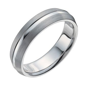Sterling Silver Matt & Polished Ring - Product number 9960759