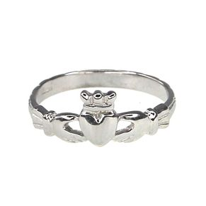 Cailin Sterling Silver Claddagh Ring - Size O - Product number 9974555